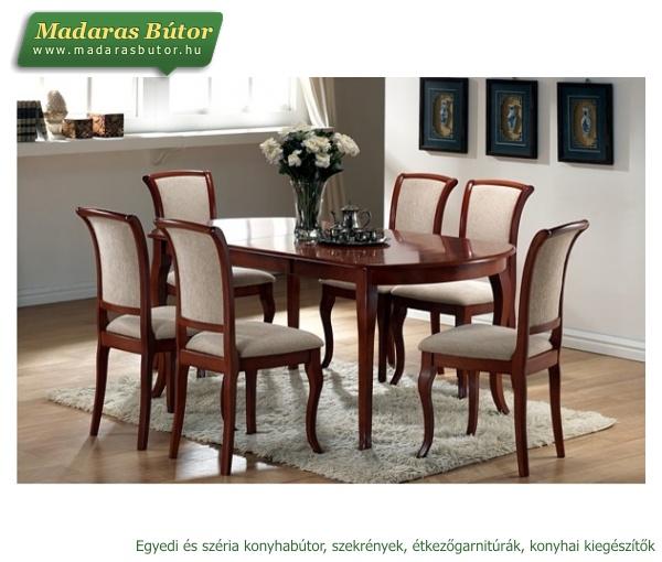MILANO ÉTKEZŐ (asztal + 6 szék) - Klasszikus és modern ...