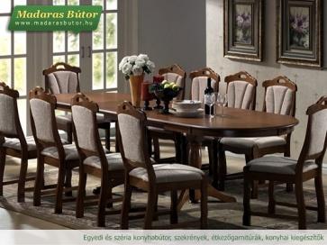 EUROPA ÉTKEZŐ (asztal + 6 szék) - Klasszikus és modern étkezők tömörfából